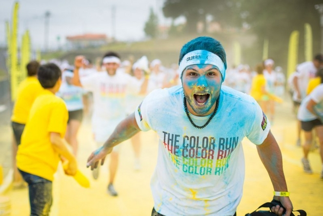 "Spalvotas bėgimas ""The Color Run"""