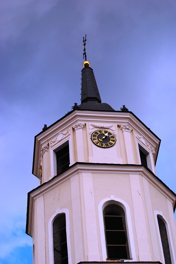 The cathedral belfry