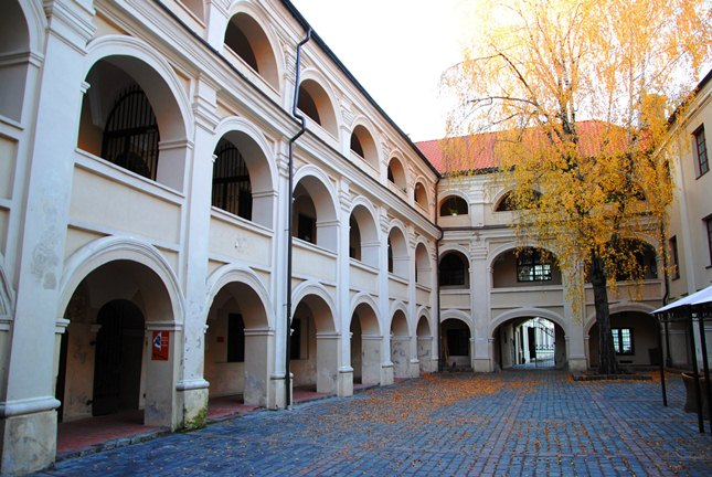The Alumnatas Courtyard in autumn