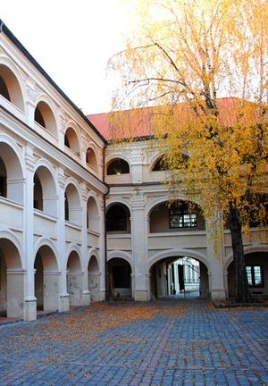 The Alumnatas Courtyard